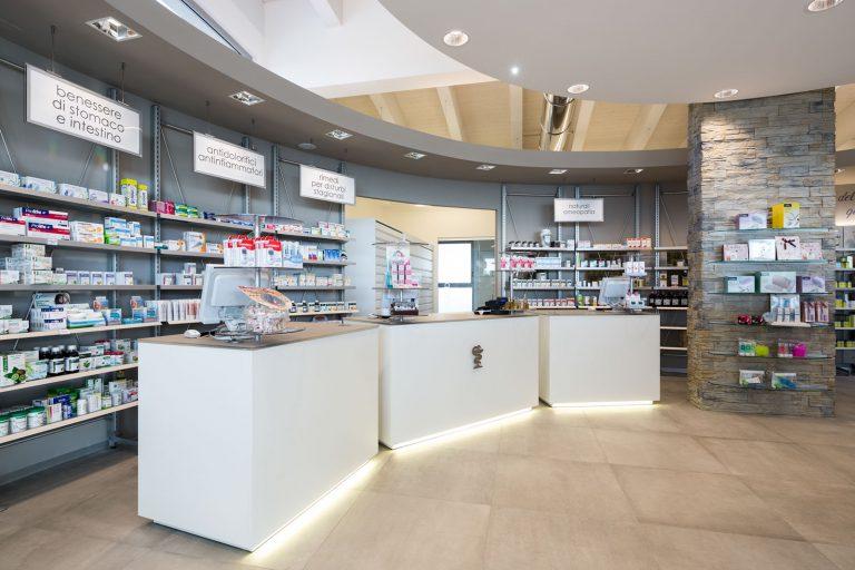 Farmacia Dello Rosso - Rapolano Terme, bancone
